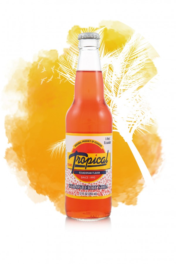 Tropical Strawberry Soda